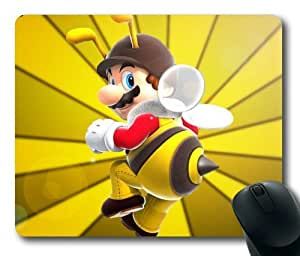 Game Super Mario Mouse Pad/Mouse Mat Rectangle by ieasycenter