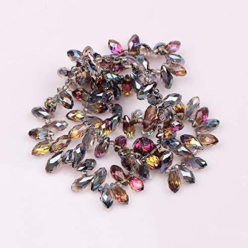 (Briolette Pendant | Waterdrop Crystal Beads 6x12mm 100pcs)