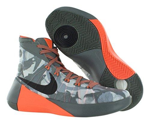 Nike Herren Hyperdunk 2015 Basketballschuh Getrommelt Grau / Schwarz / Nacht Silber / Wolf Grau