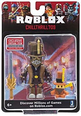 Amazon.com: Roblox CHILLTHRILL709 Jazwares ROBO205 - Figura ...