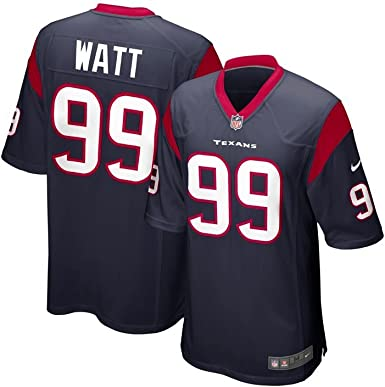 Lograr cooperar puño  Amazon.com : Nike NFL JJ Watt Texans Jersey Navy : Football Jerseys :  Clothing