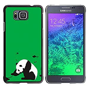 For Samsung ALPHA G850 - Green Panda Stop War Tank Helicopter /Modelo de la piel protectora de la cubierta del caso/ - Super Marley Shop -