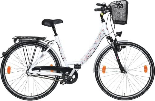 TEXO Cityrad - Bicicleta de Paseo para Mujer, Talla XS (155-160 cm ...