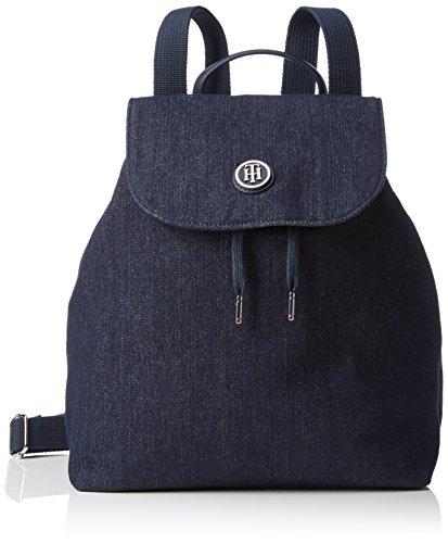 tommy hilfiger women s poppy backpack winter backpack blue blau. Black Bedroom Furniture Sets. Home Design Ideas