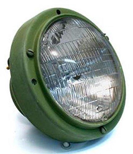 Military HEADLIGHT ASSEMBLY, 24V-GREEN ; M939 HUMMER ; 12338611 5591170 6220-01-193-1970