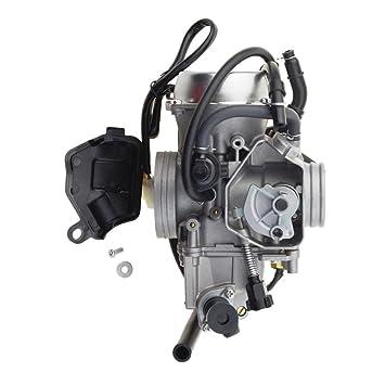 GOOFIT Carburador de Motos 500cc para TRX500 2005-2009 ...