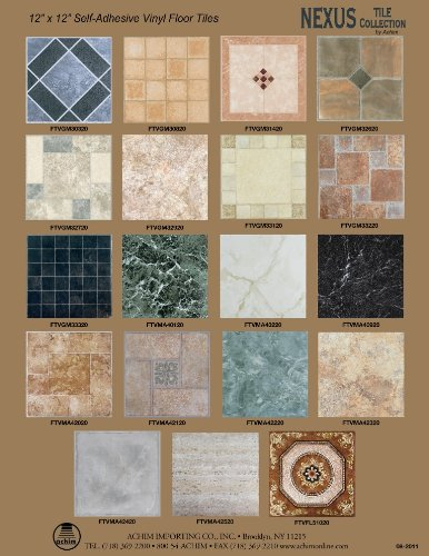 Achim Home Furnishings Ftvma42320 Nexus 12 Inch Vinyl Tile