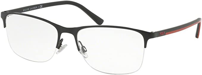 Ralph Lauren POLO 0PH1176 Monturas de gafas, Demi Shiny Black, 54 ...
