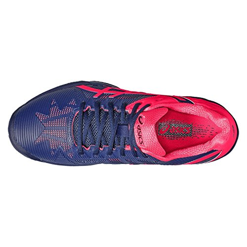 Donna Asics Clay Pink diva 3 Indigo Solution Speed Gel Blue qrBCPqS