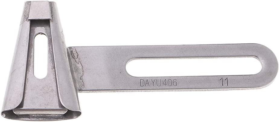 Belt Loop Folder Attachment DY406 F342 for Industrial Sewing Machines 9mm