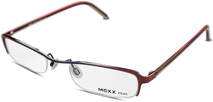 Mexx Damen Brille Modell 5458 Col 525 Gr 50 21 Silber Braun Amazon De Bekleidung
