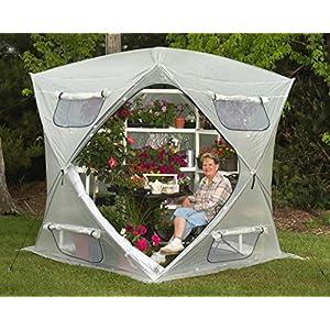 Flower House FHBH600 BloomHouse Hub Style Greenhouse