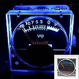 YalinGE 2pcs 12v Analog Panel VU Meter Audio Level Meter Blue Back Light No Need Driver