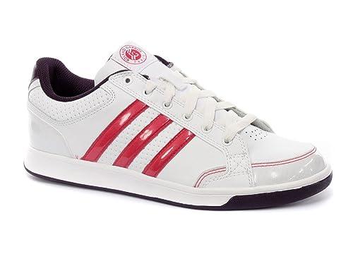 Adidas - Zapatillas de tenis para mujer RunWht/AerRed/DeePur, color, talla 37: Amazon.es: Zapatos y complementos