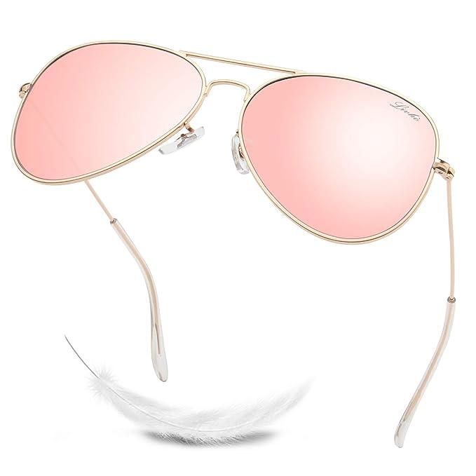 Amazon.com: LIVHO 2 Style Classic Aviator - Gafas de sol ...