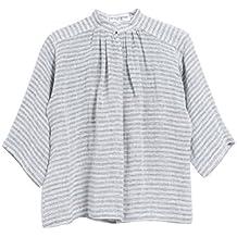Apiece Apart Striped Shirred Top 2