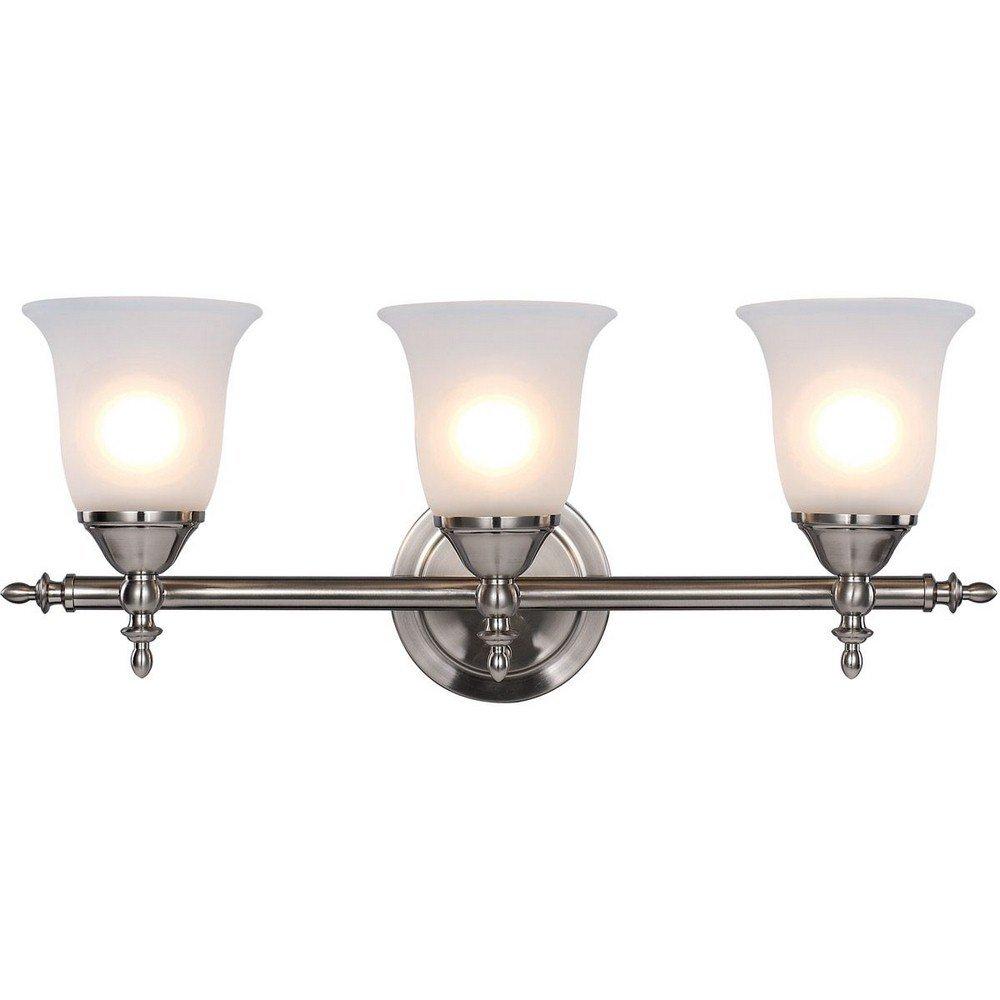 Trans Globe Lighting 20393 BN Indoor Gassaway 22'' Vanity Bar, Brushed Nickel