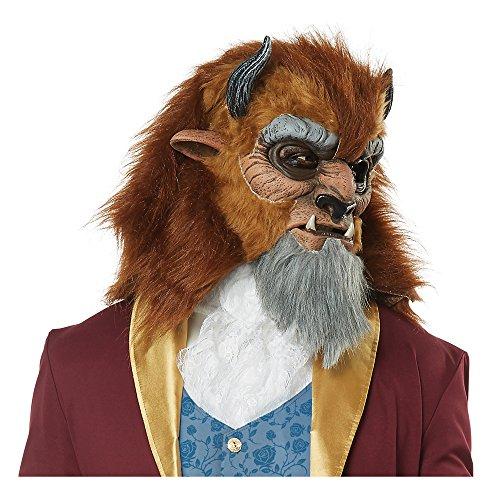 California Costumes Men's Storybook Beast Mask, Brown One