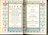 img - for The Lives of the Noble Grecians and Romans: Volumes 1 & 2 book / textbook / text book