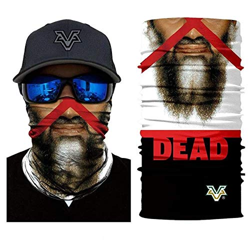 3D Mr. Bin Laden Face Tube Neck Face Scarf Lower Half Face Mask Motorcycle Bicycle Shield Sun Air Soft Outdoor Biker Riding Masks No.68]()