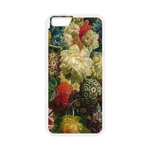 Iphone 6 Case Flowers Vintage Design Floral Print lm512411