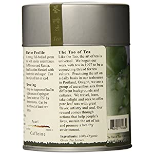 The Tao of Tea, Pearl Green Tea, Loose Leaf, 4.0 Ounce Tin