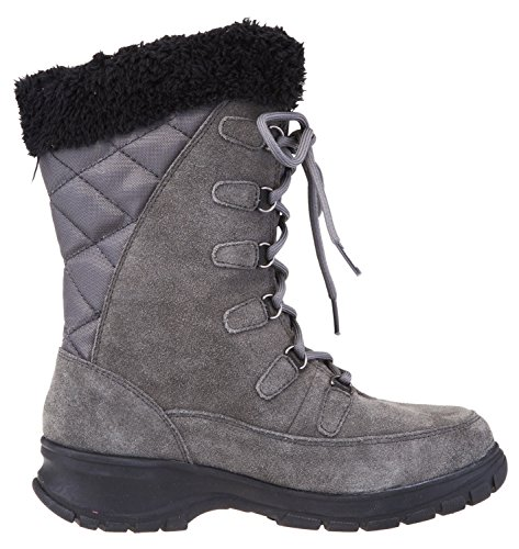 Kamik Womens Boston Snow Boot Charcoal Ii