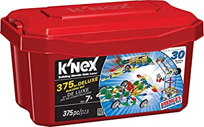K'NEX - Deluxe Building Set - 375 Pieces - For Ages 7+ Construction Education Toy