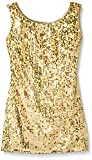 Gia Mia Dance Big Girls Sequin Tunic Dress, Gold, Medium