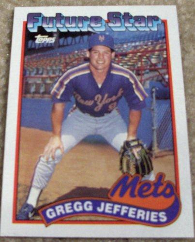 Amazoncom 1989 Topps Gregg Jefferies 233 Mlb Baseball