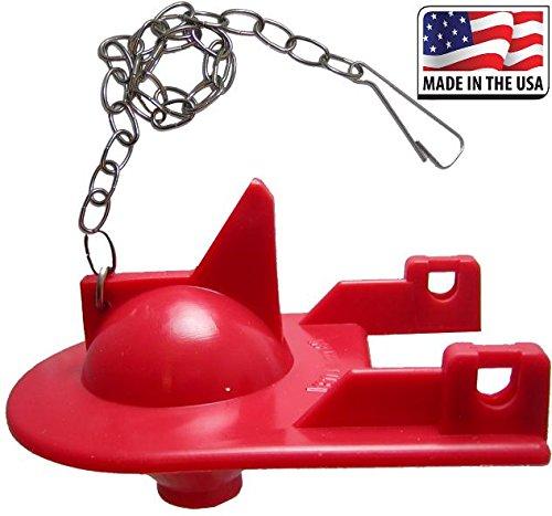FlushLine Toilet Flapper for Kohler Shark Top GP84138, 84313