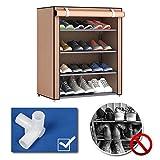 Baynne 5 Tiers Shoe Rack Shoe Storage Organizer