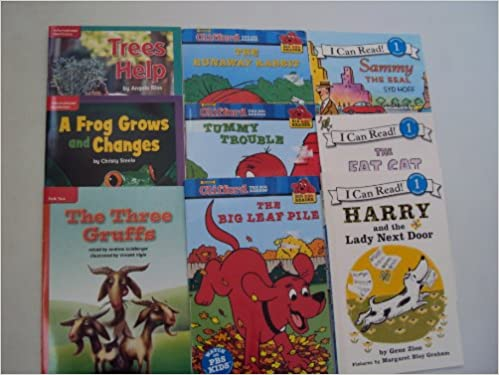 Book Sets Level 1 Reading Books Clifford The Big Red Dog The