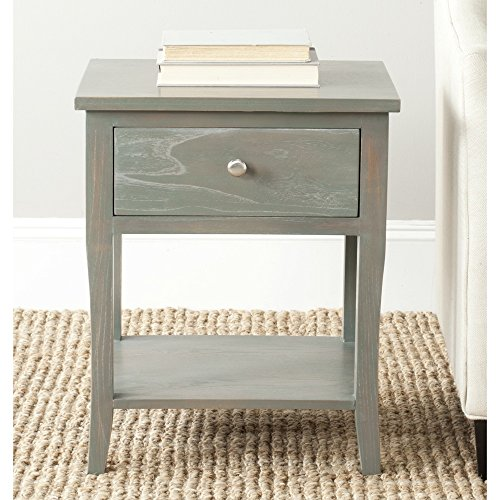 Safavieh American Homes Collection Coby End Table, French Grey (Pacific Furniture Grove)
