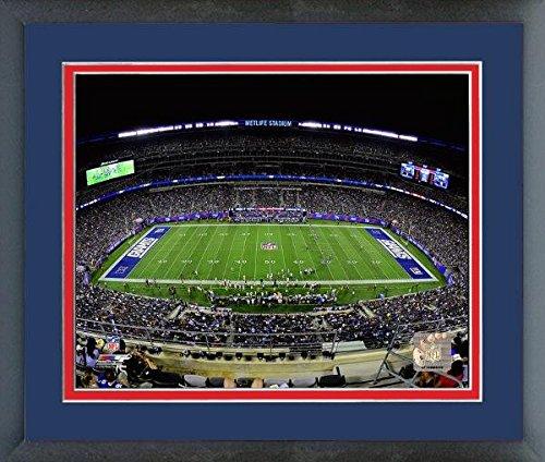 New York Giants Metlife Field 2014 Nfl Stadium Photo  Size  18  X 22   Framed