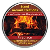 Premium 100% Soy Tureen Candle - 8 oz. - Fireplace: A woodsy, earthy aroma true to it's name.