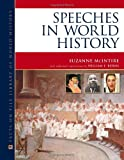 Speeches in World History, Suzanne McIntire, 0816074046