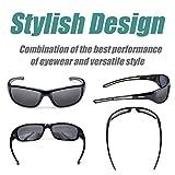 Duduma Polarized Sports Sunglasses for Men Women Baseball Running Cycling Fishing Driving Golf Softball Hiking Sun Glasses Tr8116