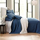BrylaneHome Chenille Bedspread (Antique Blue,King)