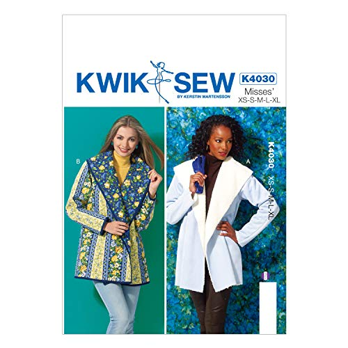 (KWIK-SEW PATTERNS K4030 Misses' Jackets Sewing Template)