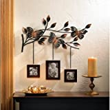 Koehler Home Decor Butterfly Wood Picture Photo Memories Frames Hanging Wall Decor