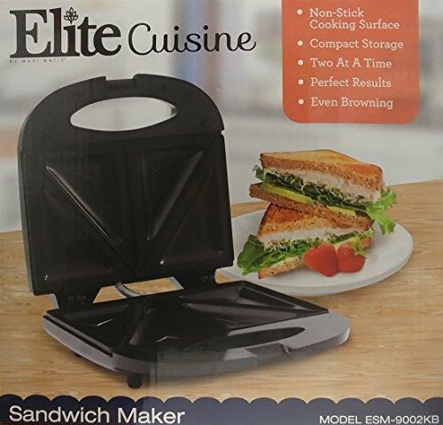 elite cuisine sandwich maker - 5