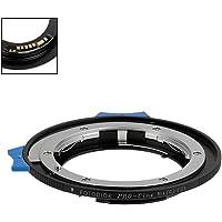 Fotodiox Pro Lens Mount Adapter Compatible with Nikon Nikkor F Mount G-Type D/SLR Lens to Canon EOS (EF/EF-S) Mount DSLR…