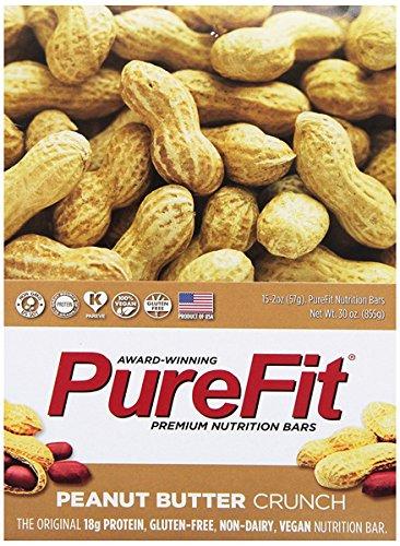 Purefit Bar Peanut Butter Crunch, 2 oz