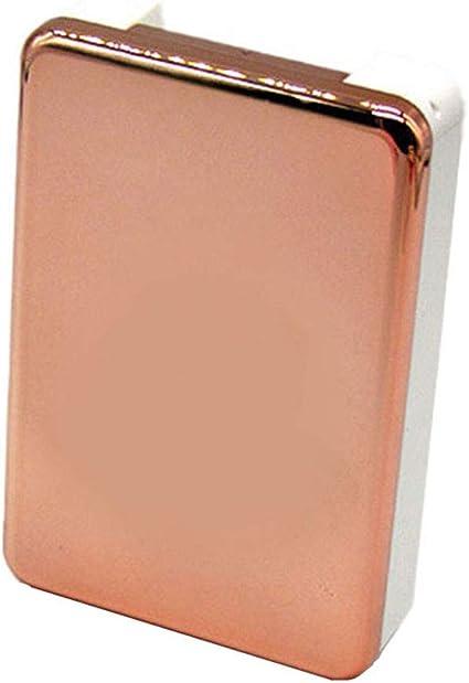 Drawihi Espejo Caja De Lentes De Contacto Kit De Viaje Exquisito Y Hermoso Estuche Lentillas(Oro Rosa): Amazon.es: Coche y moto