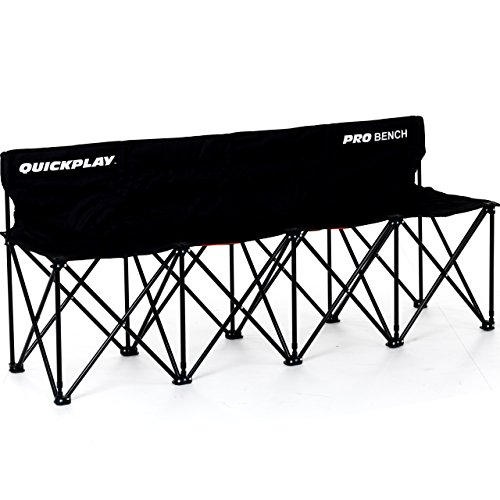 QuickPlay PRO Folding Bench 4 Seats - with 2YR (Kwik Goal Bench)