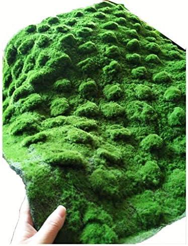 芝の敷物の人工的な芝生、コケのマットの塀の背景の装飾 (Size : 1piece)