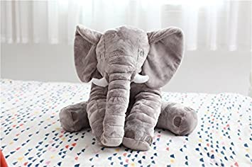 Mystery/&Melody Morbido Elefante Peluche Giocattolo farcito Elefante Cuscino Bambola Giocattolo Regalo Perfetto per i Bambini Bambino