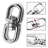 Lependor Stainless Steel 304 Double Ended Swivel