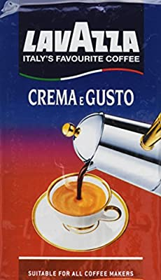 LavAzza Crema e Gusto Ground Coffee 8.80 oz (Pack of 8)